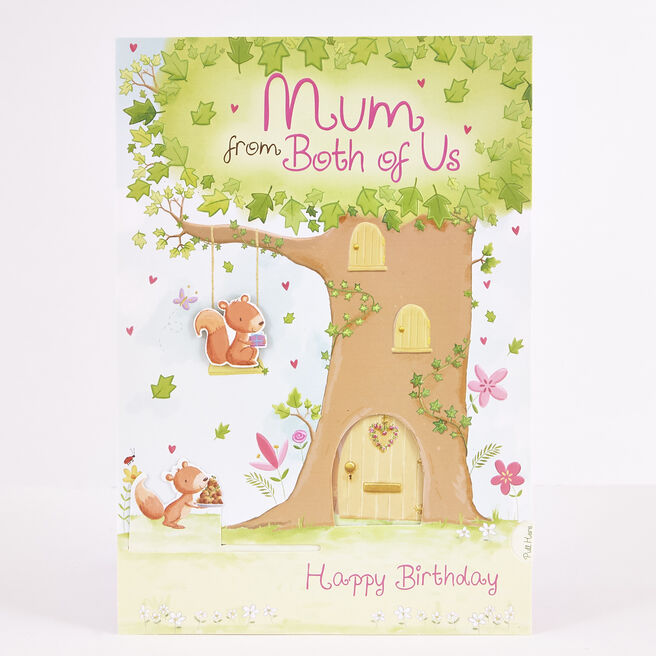 Signature Collection Birthday Card - Mum From Both Of Us