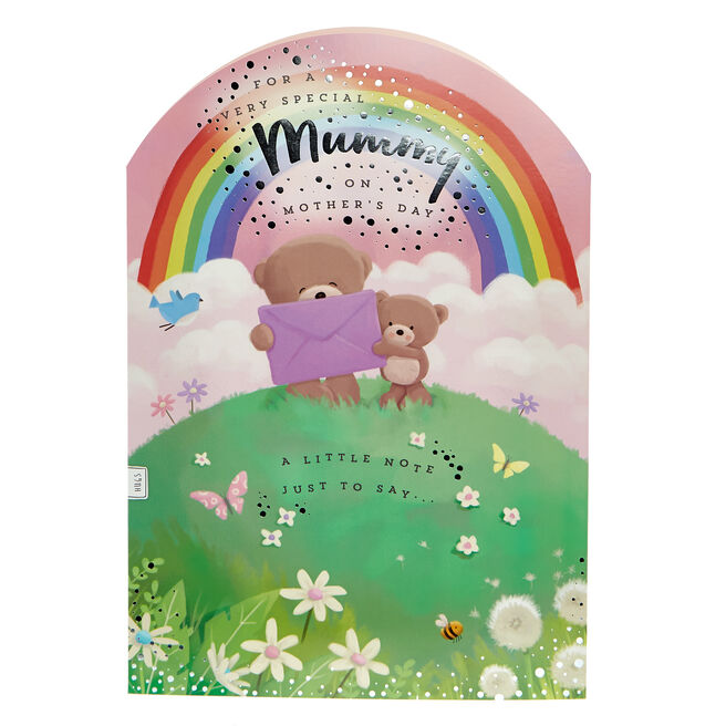 Giant Hugs Bear Mother's Day Card - Special Mummy