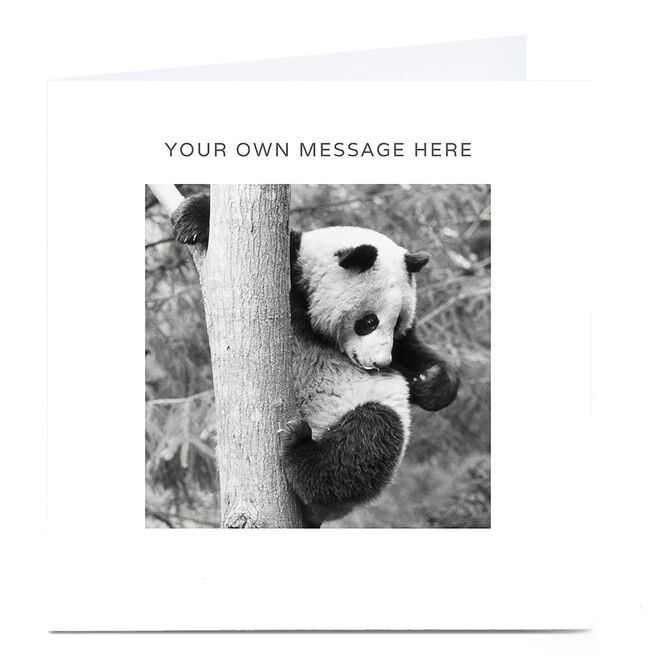 Personalised Card - Panda