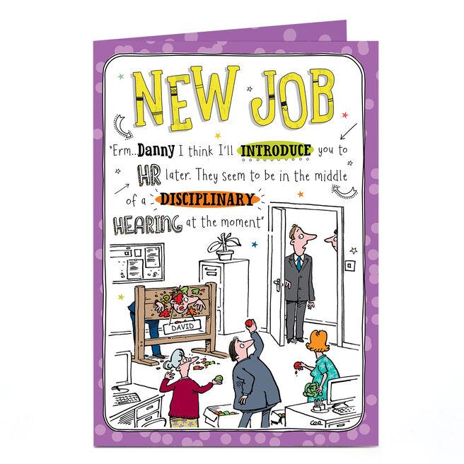Personalised New Job Card - HR Disciplinary