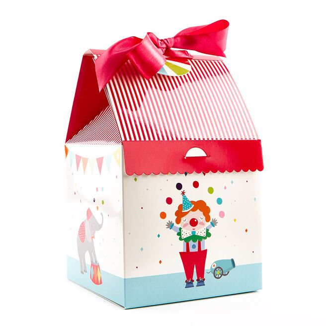 Circus Tent Flat-Pack Gift Box
