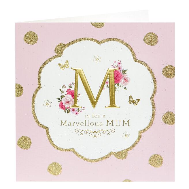 Birthday Card - Marvellous Mum