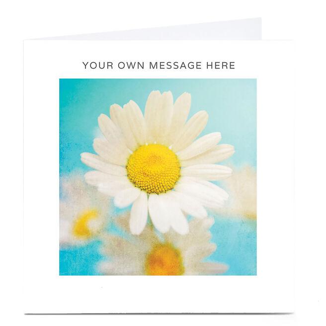 Personalised Card - Daisies