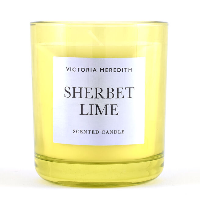 Victoria Meredith Sherbet Lime Scented Candle