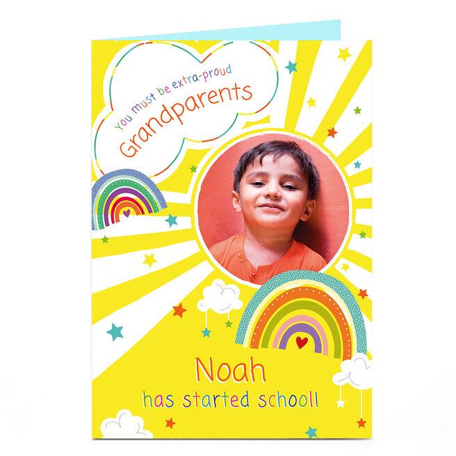 Photo Card - Extra Proud School Starter