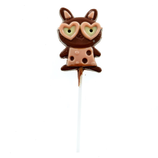 Easter Bunny Chocolate Lollipop