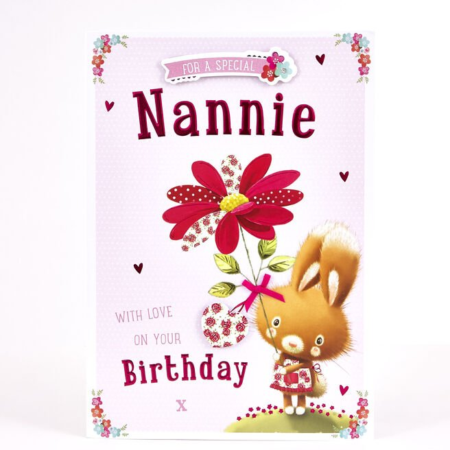 Signature Collection Birthday Card - Special Nannie