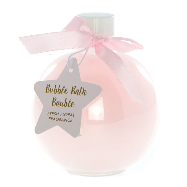 Fresh Floral Bubble Bath Bauble