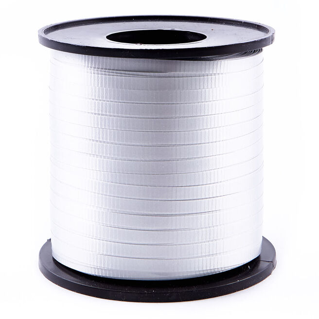 Light Silver Curling Ribbon - 500 Yards