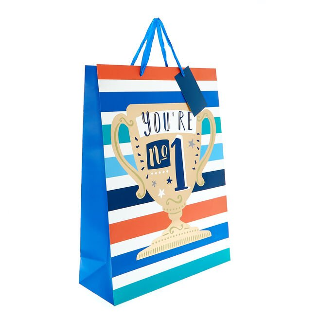 Large Portrait Gift Bag - Trophy
