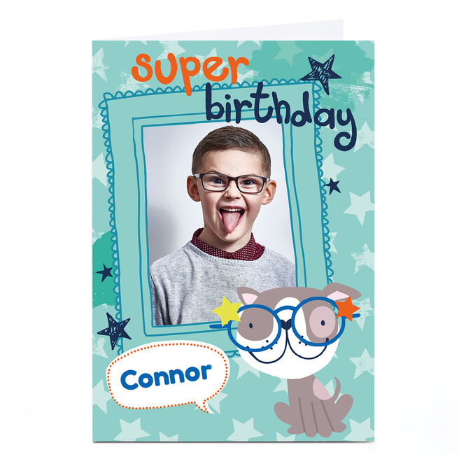 Personalised Bev Hopwood Birthday Card - Super Birthday
