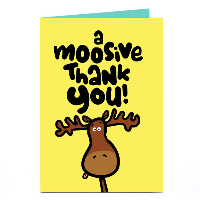 Personalised Fruitloops Thank You Card - Moosive Thank You