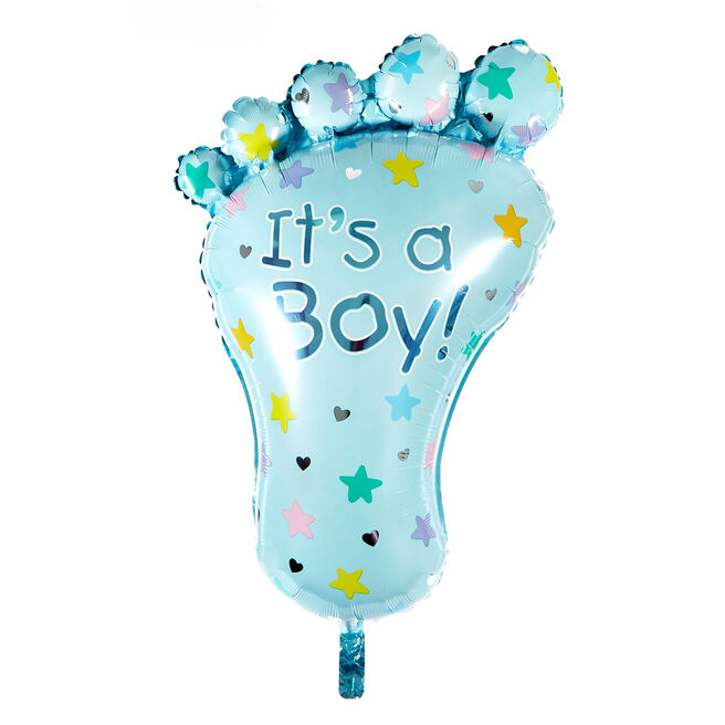 Large It's A Boy 32-Inch Foil Helium Balloon
