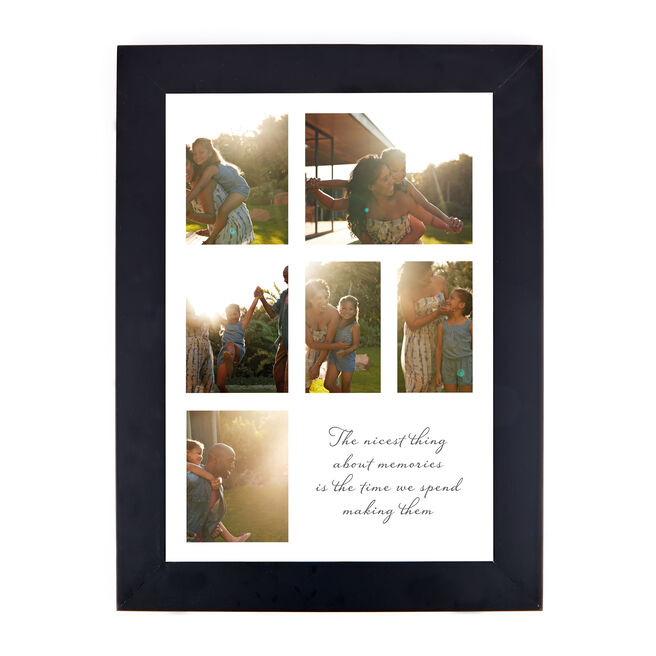 Personalised Photo Print - 6 Special Memories