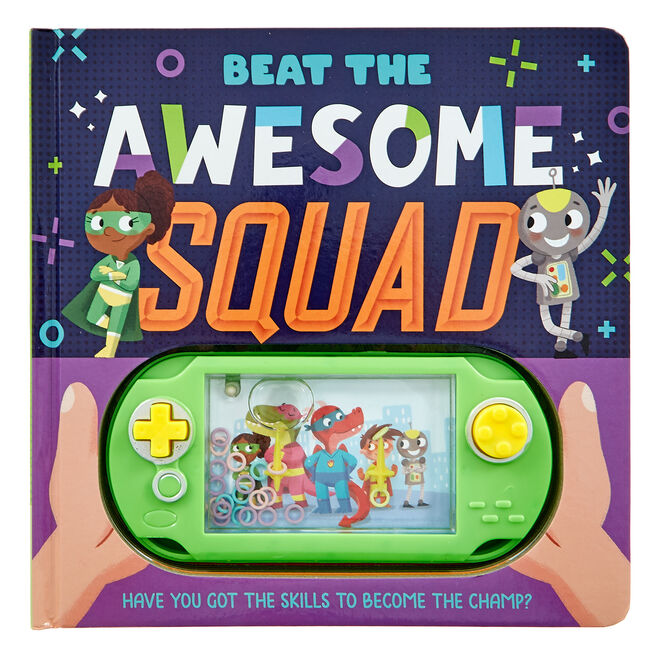Beat The Awesome Squad Game & Story Book