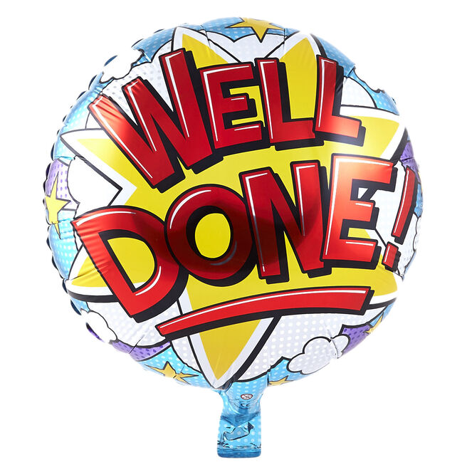 Well Done! Foil Helium Balloon