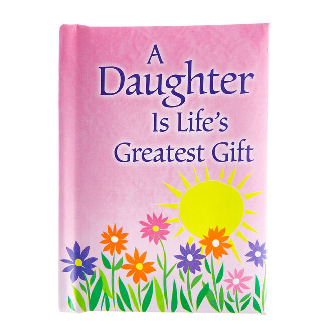 Blue Mountain Arts Keepsake Book - A Daughter Is Life's Greatest Gift