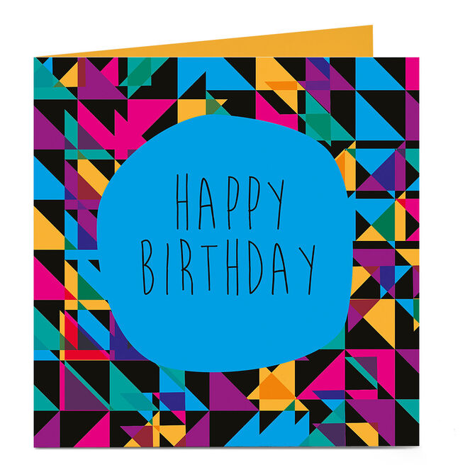 Personalised Bright Ideas Card - Happy Birthday