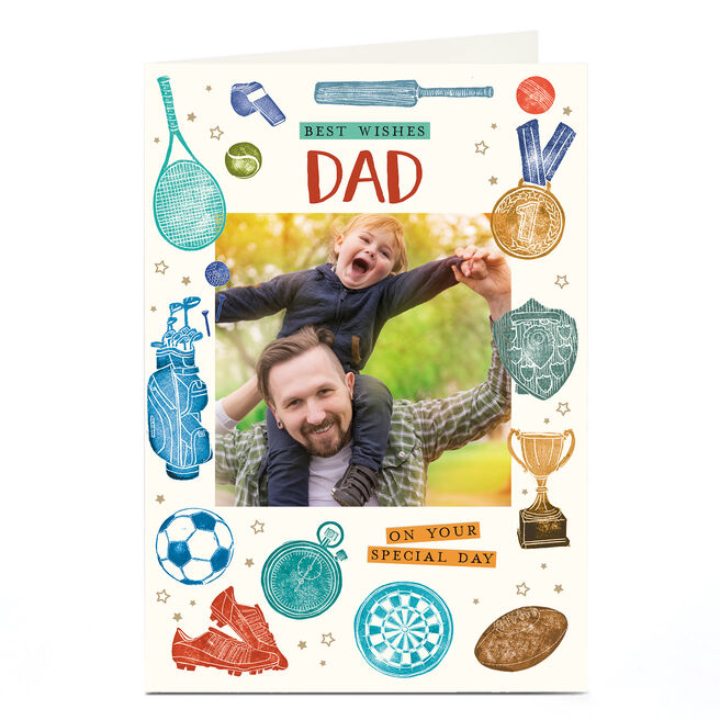 Photo Father's Day Card - Dad, On Your Special Day