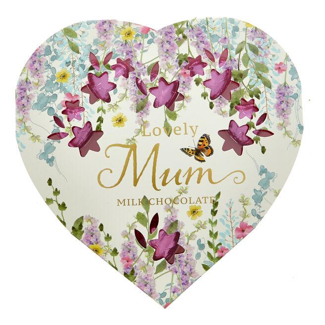 Lovely Mum Milk Chocolate Hearts