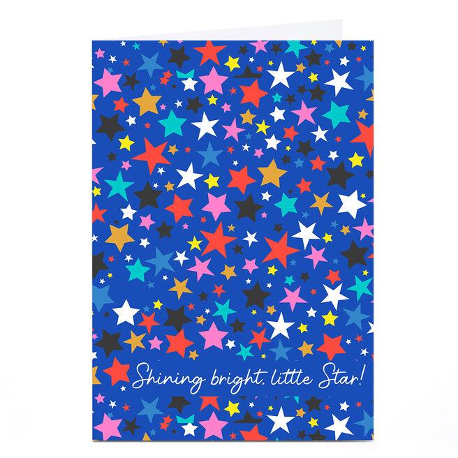 Personalised Rachel Griffin Birthday Card - Shining Bright, Little Star!