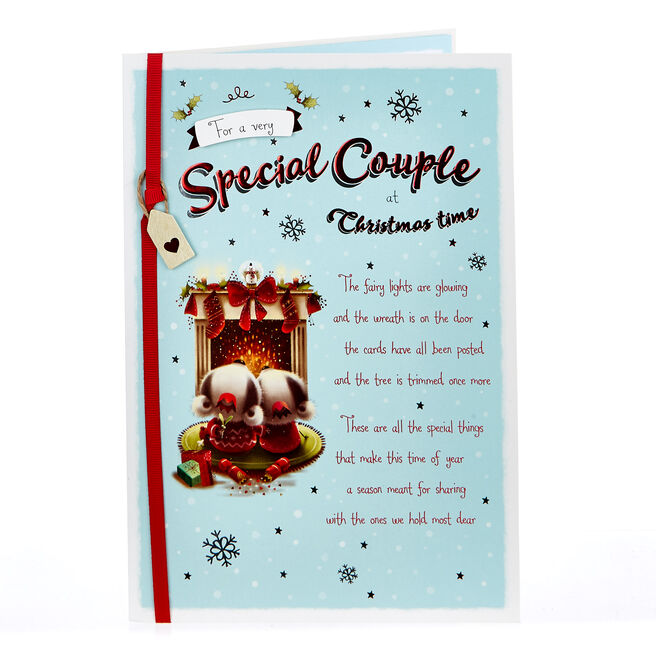 Christmas Card - To A Very Special Couple