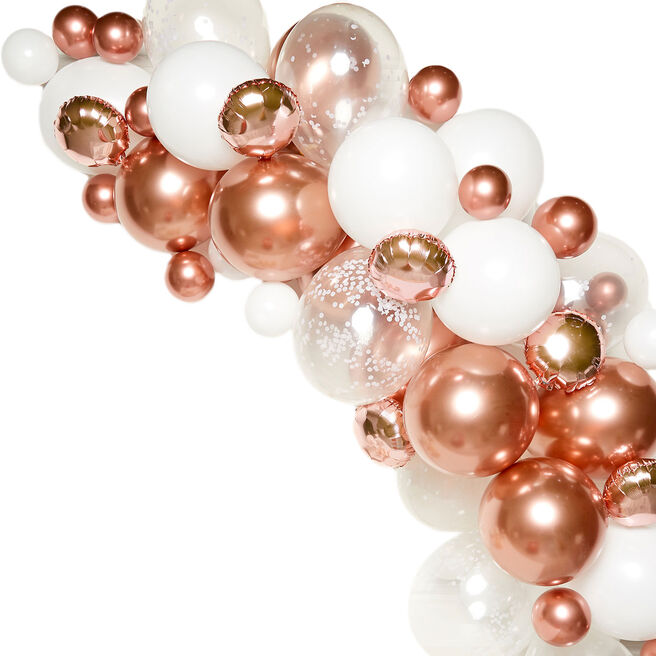 DIY Balloon Garland Kit - Rose Gold