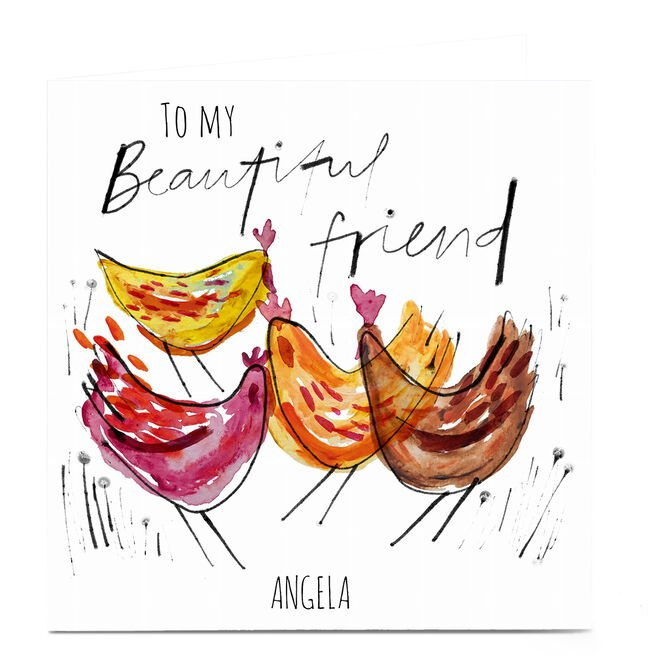 Personalised Emma Emma Valenghi Card - Beautiful Friend