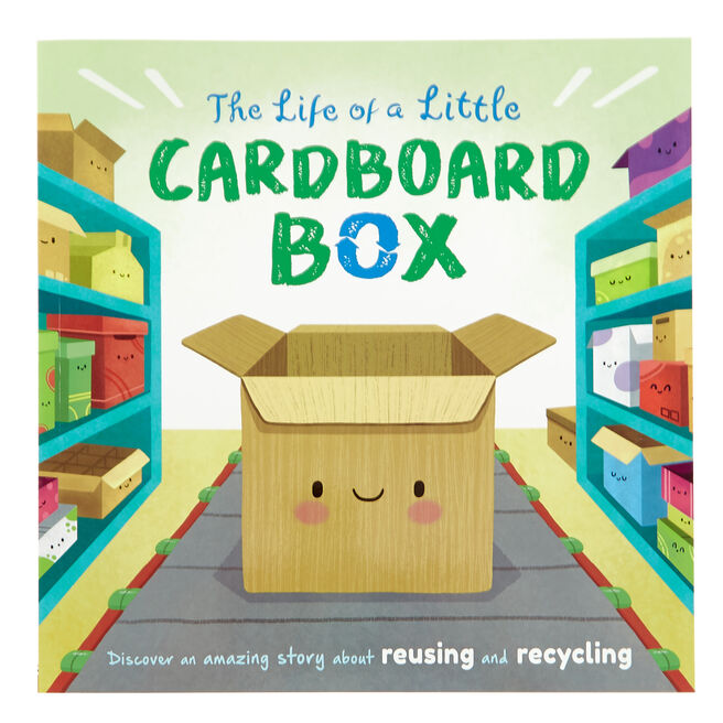 The Life Of A Little Cardboard Box Storybook