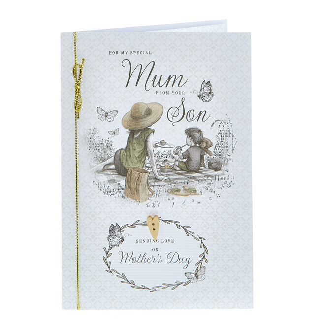 Mother's Day Card - Special Mum From Your Son