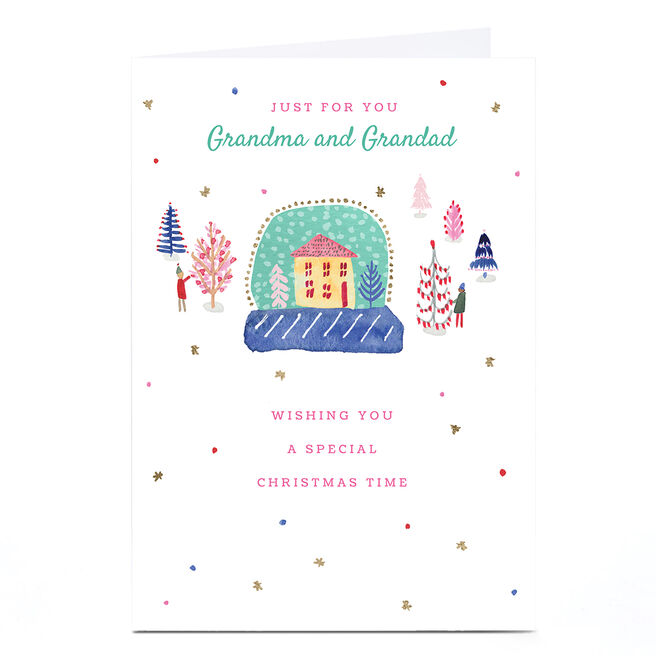Personalised Rebecca Prinn Christmas Card - Just for You