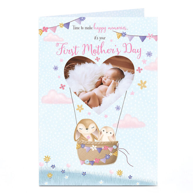 Photo 1st Mother's Day Card - Make Happy Memories