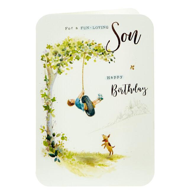 Birthday Card - Fun-Loving Son