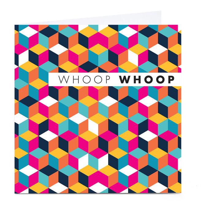 Personalised Hello Munki Card - Whoop Whoop