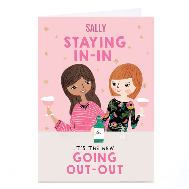 Personalised Charm & Style Card - Staying In-In