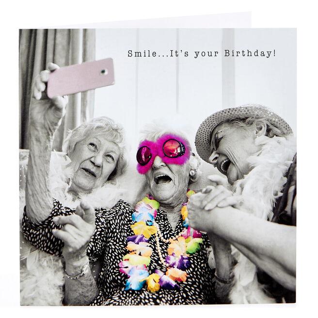 Birthday Card - Golden Oldies