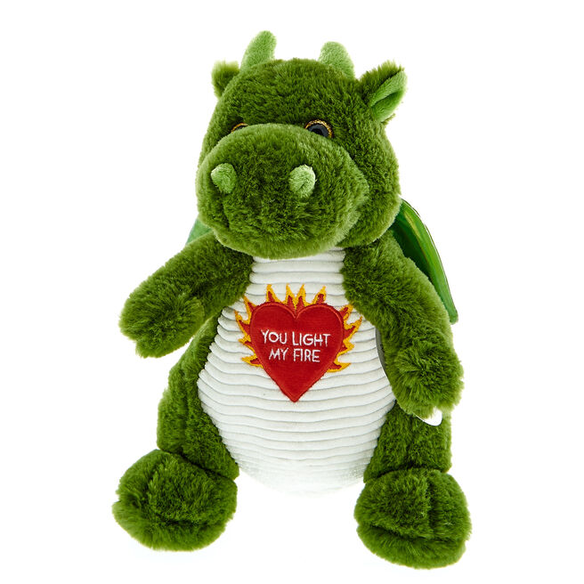 You Light My Fire Dragon Soft Toy
