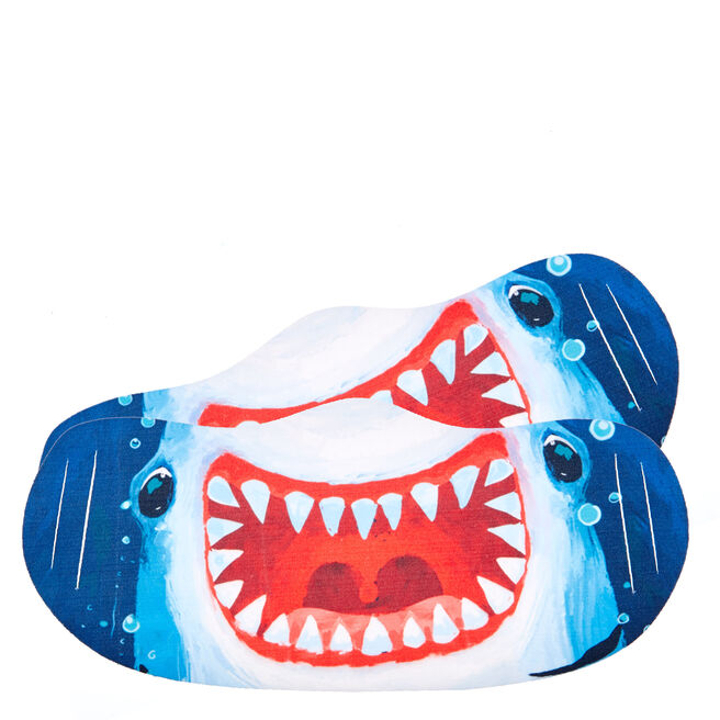 Washable Shark Face Coverings - Pack Of 2
