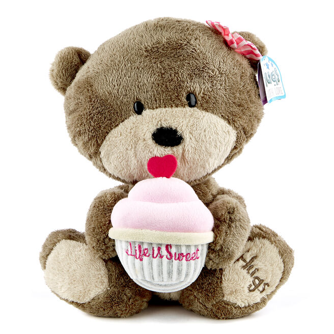 Hugs Bear & Cupcake Soft Toy