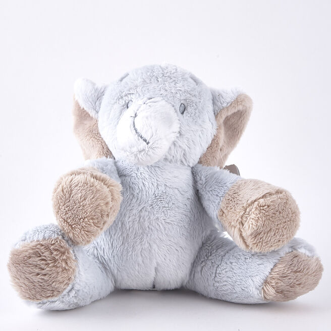 Tiny Treasures Blue Elephant Plush
