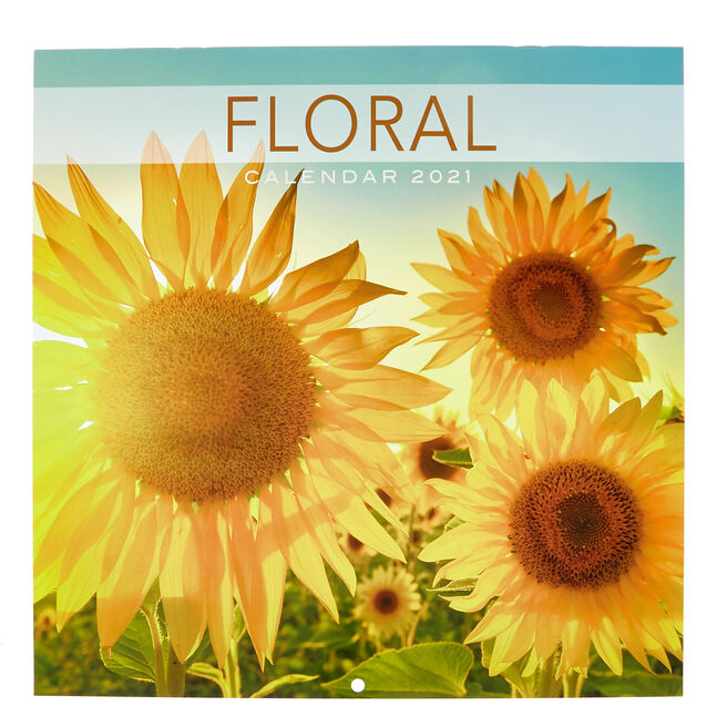 Floral 2021 Calendar