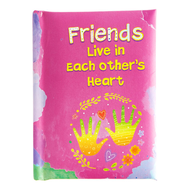 Blue Mountain Arts Keepsake Book - Friends Live In Eachother's Hearts