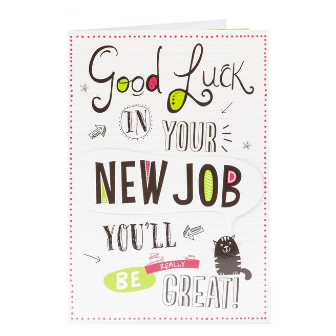 New Job Card - You'll Be Really Great