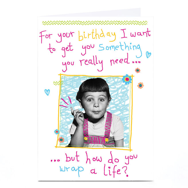 Personalised Quitting Hollywood Birthday Card - Something You Really Need