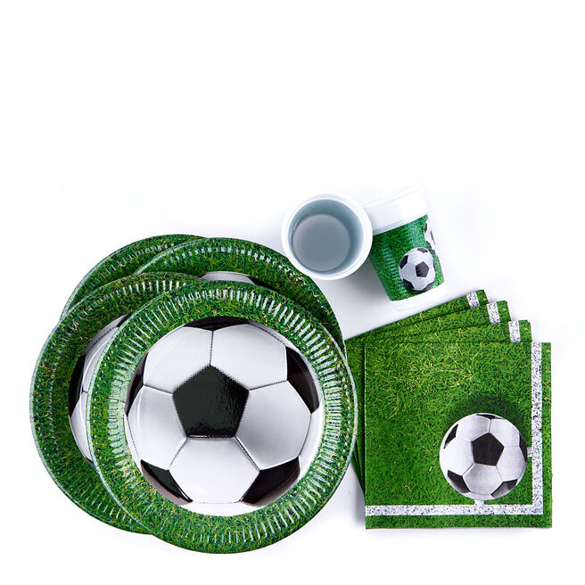 Football Party Tableware Bundle - 36 Pieces