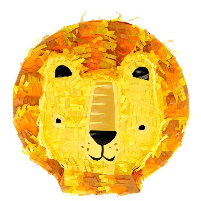 Mini Lion Piñata-Style Party Decoration