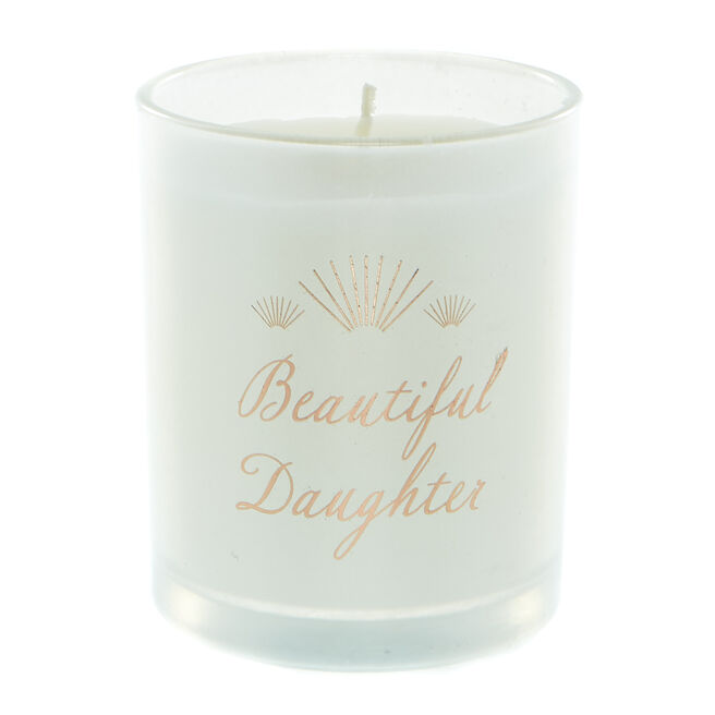 Beautiful Daughter Vanilla Scented Candle