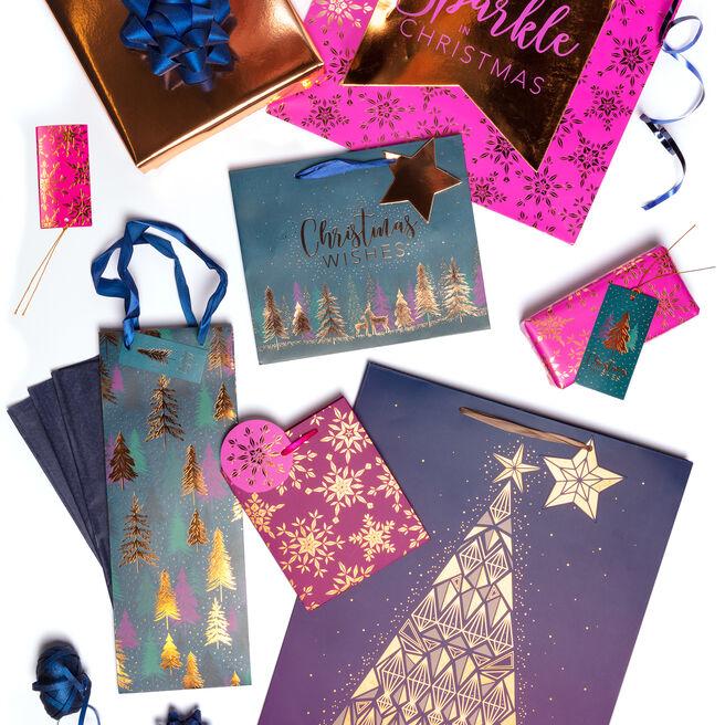 Sparkle Christmas Gift Wrap Range