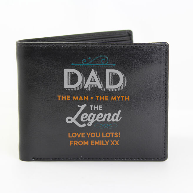 Personalised Wallet - Dad The Legend