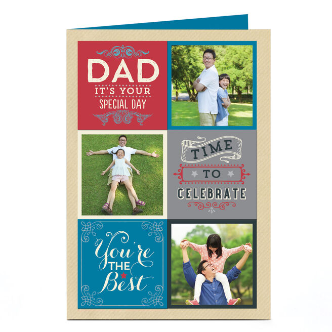 Photo Card - Dad It's Your Special Day